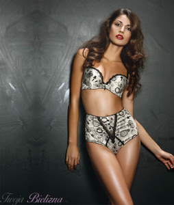 Biustonosz push-up CLANDESTINE SO CHIC S1644