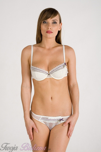 MARILYN (08773) - BIUSTONOSZ PUSH-UP - ivory